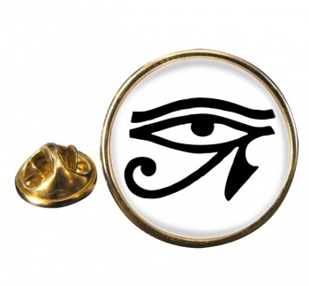 Eye of Horus Round Pin Badge