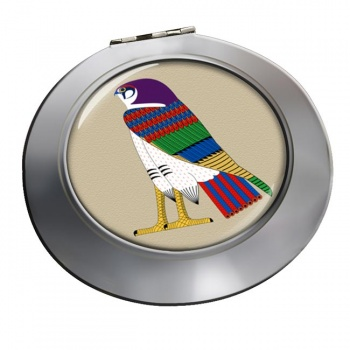 Horus God of the Sky Chrome Mirror
