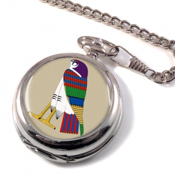 Horus God of the Sky Pocket Watch