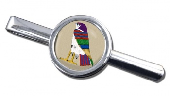 Horus God of the Sky Round Tie Clip