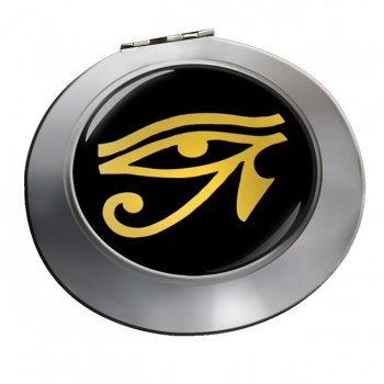 Eye of Horus Gold Chrome Mirror