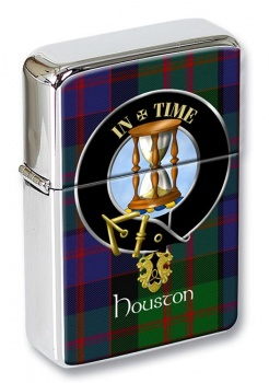 Houston Scottish Clan Flip Top Lighter