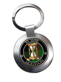 Houston Scottish Clan Chrome Key Ring