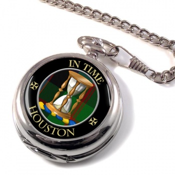 Houston Scottish Clan Pocket Watch