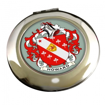 Howard Coat of Arms Chrome Mirror