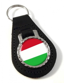 Hungary Leather Key Fob