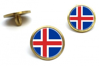 Iceland Island Golf Ball Marker