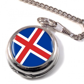 Iceland I�sland Pocket Watch