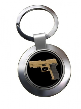Sig Sauer P226 Chrome Key Ring
