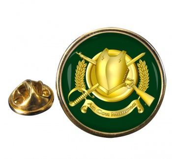Irish Cavalry Corps Round Pin Badge