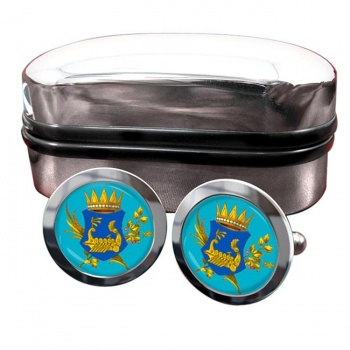 Kingdom of Illyria Crest Cufflinks