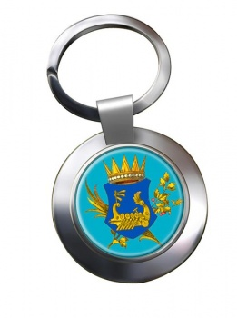 Kingdom of Illyria Metal Key Ring