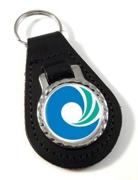 Incheon (South Korea) Leather Key Fob