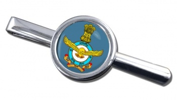 Indian Air Force Round Tie Clip