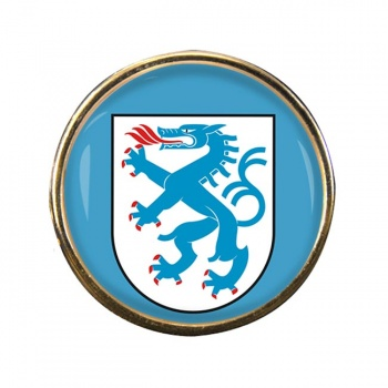 Ingolstadt (Germany) Round Pin Badge