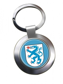 Ingolstadt (Germany) Metal Key Ring