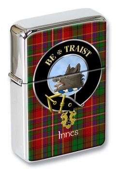 Innes Scottish Clan Flip Top Lighter