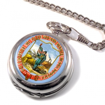 Iowa USA Pocket Watch