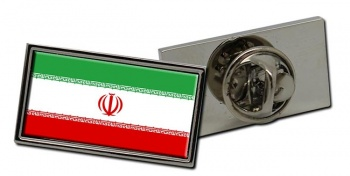 Iran Flag Pin Badge
