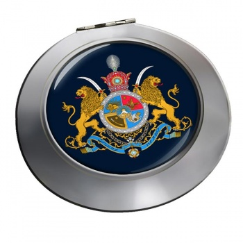 Imperial Coat of Arms Iran Round Mirror