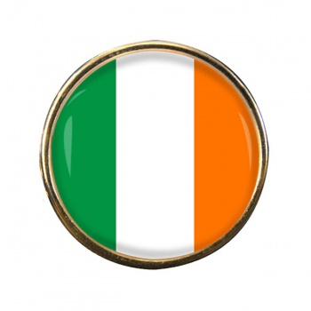 Ireland Eire Round Pin Badge