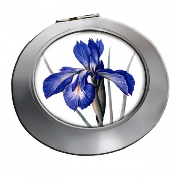 Blue Iris Chrome Mirror