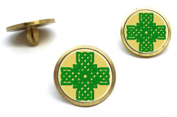 Irish Knot Cross Golf Ball Marker Set