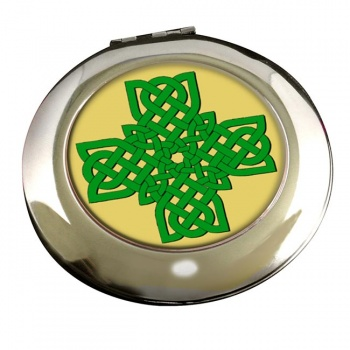 Irish Knot Cross Round Mirror