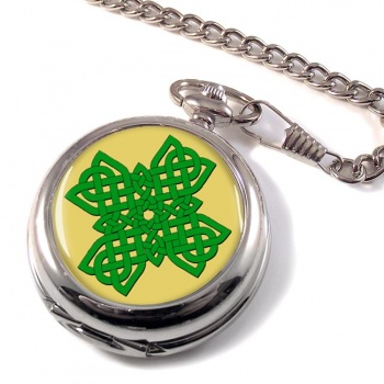 Irish Knot Cross Pocket Watch