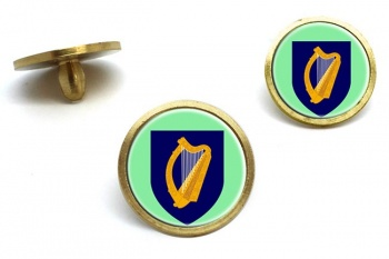 Coat of arms of Ireland Golf Ball Marker