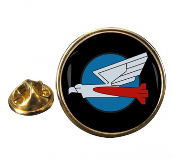 110 Squadron IAF Round Pin Badge