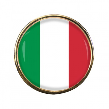 Italy Italia Round Pin Badge