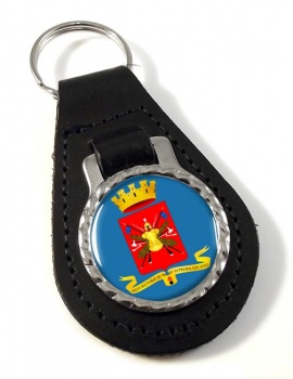 Esercito Italiano Leather Key Fob