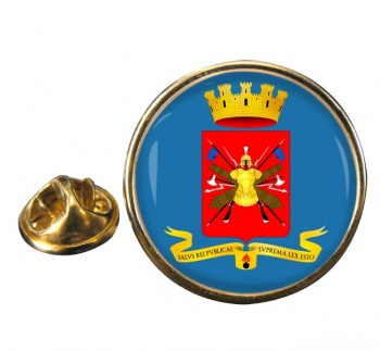 Esercito Italiano Round Pin Badge