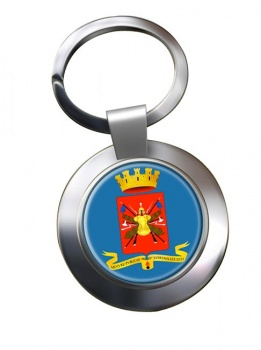 Esercito Italiano Chrome Key Ring
