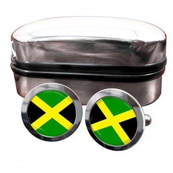 Jamaica Flag Cufflinks