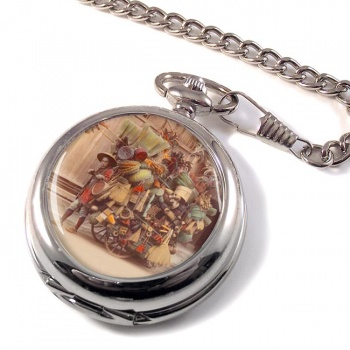 Japanese Pedler Pocket Watch