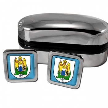 Jena Germany Square Cufflinks