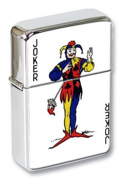 Joker Flip Top Lighter