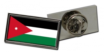 Jordan Flag Pin Badge