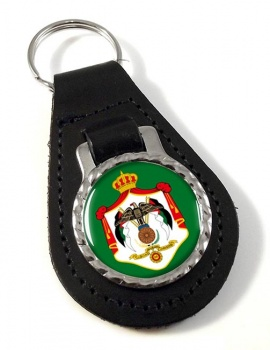Jordan Leather Key Fob