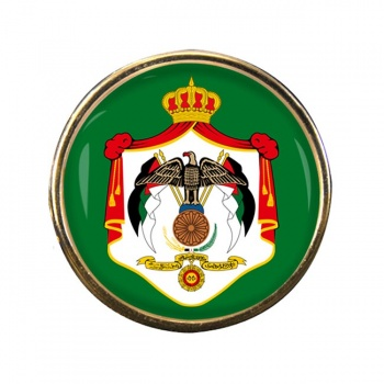 Jordan Round Pin Badge