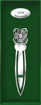 June Birthstone Bookmark