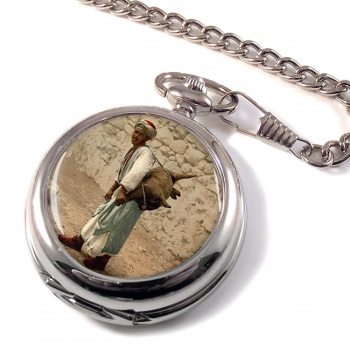 Jerusalem Water Seller Pocket Watch