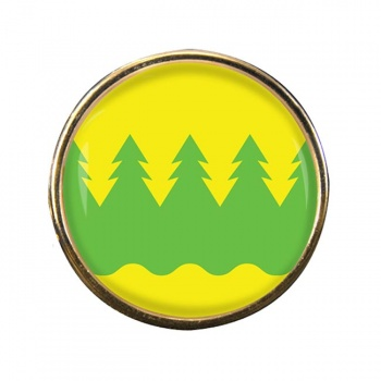 Kainuu Round Pin Badge
