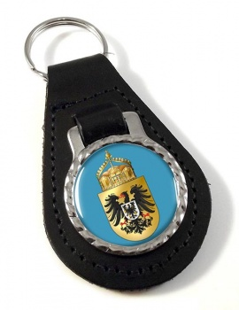 Deutschen Kaisers (Germany) Leather Key Fob