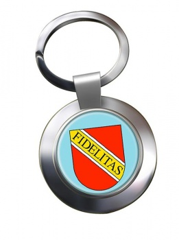 Karlsruhe (Germany) Metal Key Ring