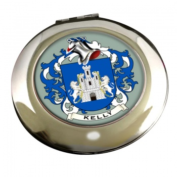 Kelly Coat of Arms Chrome Mirror