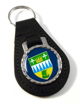County Kerry (Ireland) Leather Key Fob