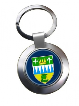 County Kerry (Ireland) Metal Key Ring